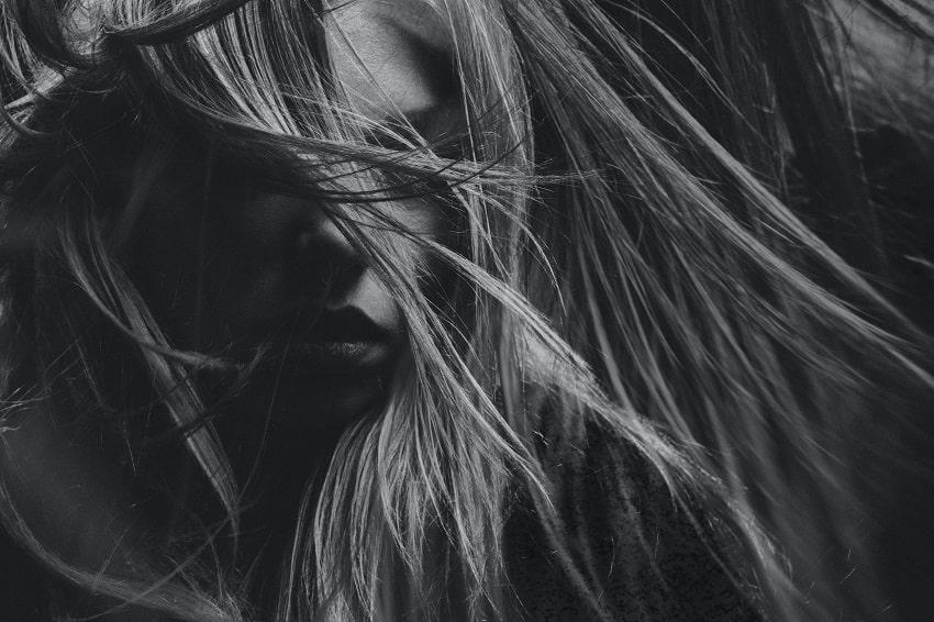 femme cheveux