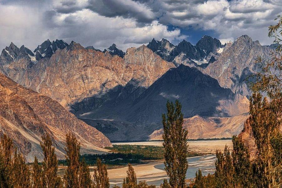 Chaîne de montagnes du Karakoram